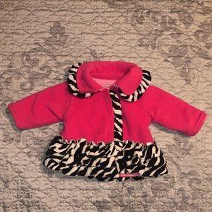Mud Pie Pink Infant Winter Jacket Size 0-6 Months